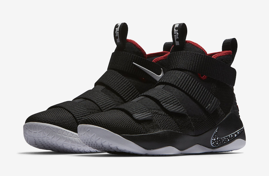 "Nike LeBron Soldier 11 ""Bred"" Release Date"