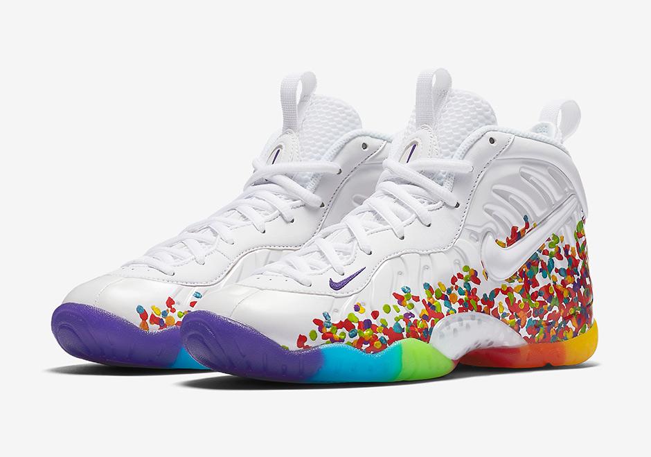 """Nike Little Posite Pro """"Fruity Pebbles"""" Release Date"""