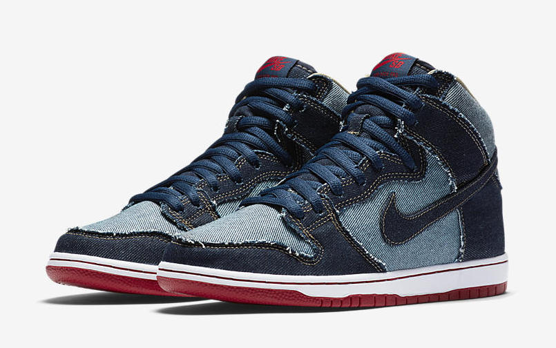"Nike SB Dunk High ""Denim"" Release Date"