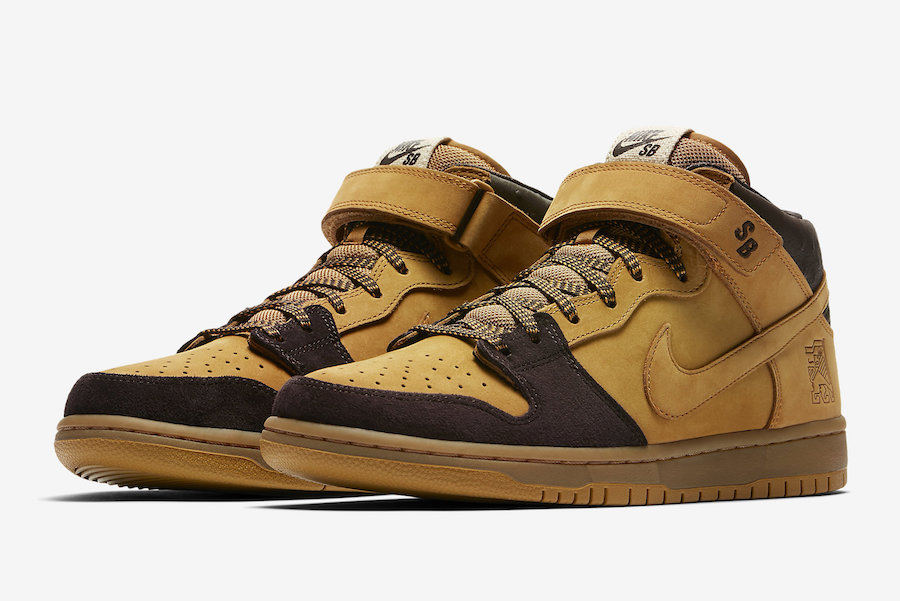 "Nike SB Dunk Mid ""Lewis Marnell"" Release Date"