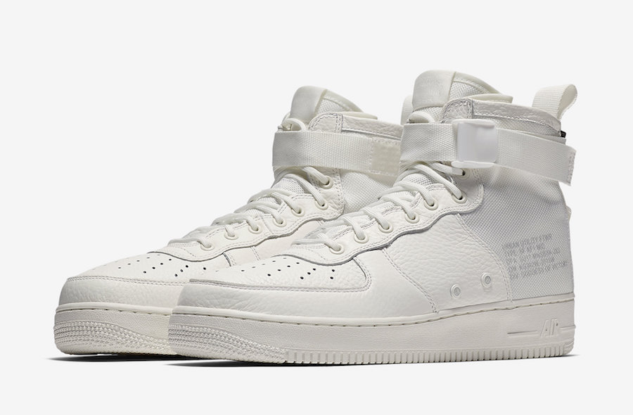 "Nike SF-AF1 Mid ""Triple Ivory"" Release Date"