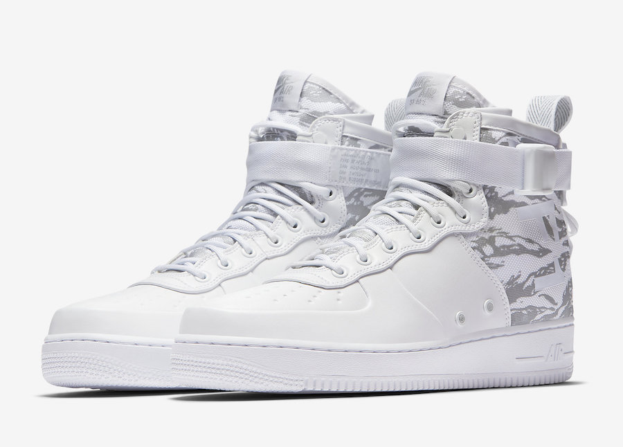 """Nike SF-AF1 Mid """"Winter Camo"""" Release Date"""