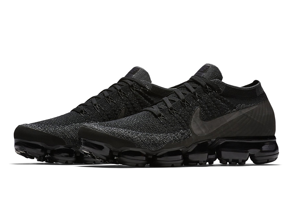 "Nike Air VaporMax ""Triple Black"" Release Date"