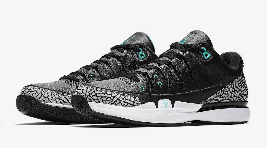 "Nike Zoom Vapor RF AJ3 ""atmos"" Release Date"