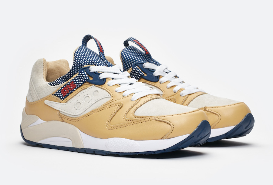 "SNS x Saucony Grid 9000 ""Business Class""  Release Date"