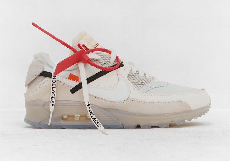 OFF-WHITE X Nike Air Max 90 Release Date