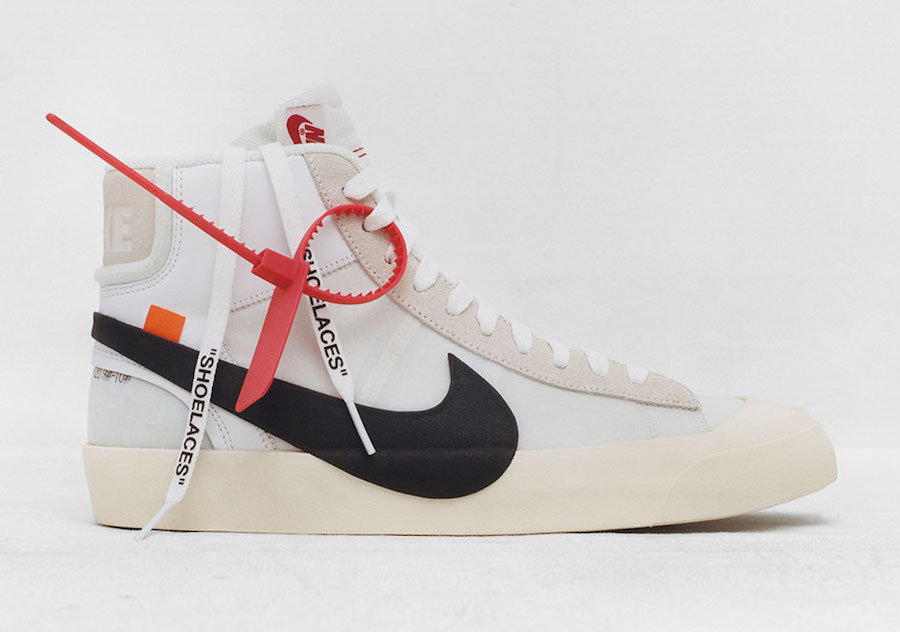 OFF-WHITE X Nike Blazer Release Date
