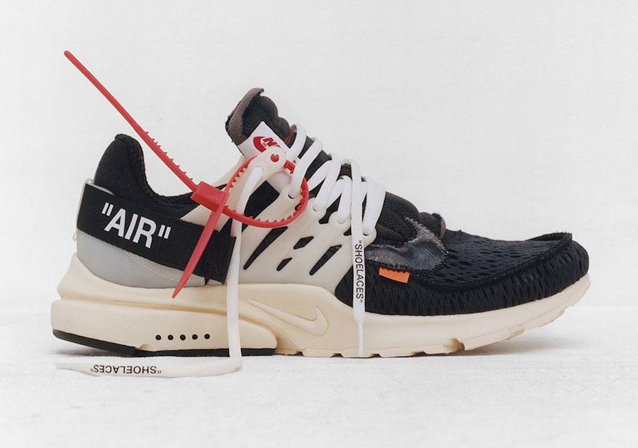 OFF-WHITE X Nike Air Presto Release Date