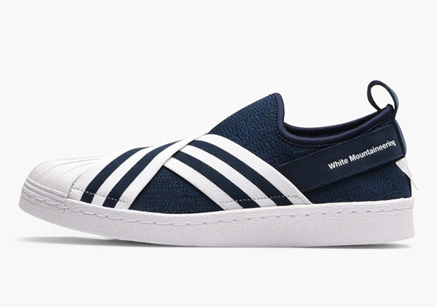 WHITE MOUNTAINEERING X ADIDAS SUPERSTAR SLIP ON Release Date